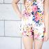 Floral  Playsuit