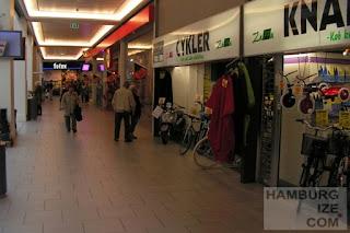 Fahrradhändler im Amager Einkaufszentrum, Kopenhagen