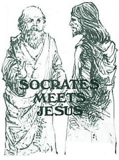 Sócrates conversa com o filho de Deus(cristão), sobre vários aspectos de seu pai.