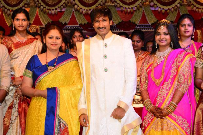 gopichand reshma marriage photos5