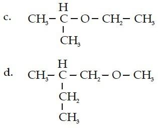 2-etoksi propana 1-metoksi-2-metil-butana