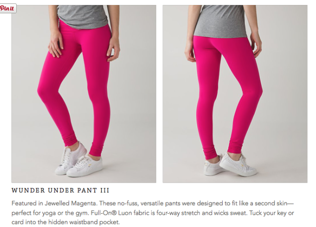 lululemon jeweled-magenta-wunder-under-pant