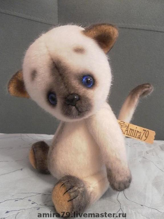 Выкройка котёнок тедди