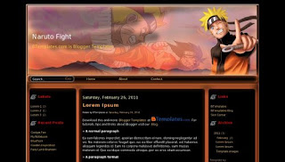 7 Template Blog Gratis Versi Naruto