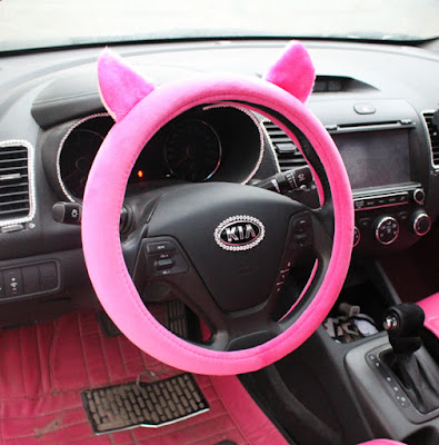 July 2015 most popular car and motorcycle - Girly interior car accessories ...