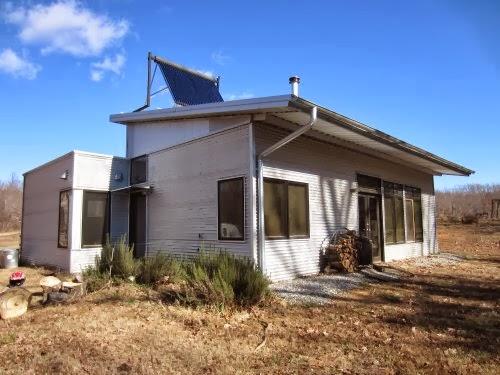 Modern Off Grid Prefab House In Rifle Season And Heartbreak