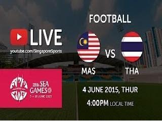Live streaming Malaysia Vs Thailand 4 Jun 2015
