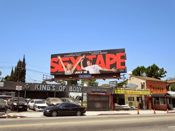 Sex Tape billboard