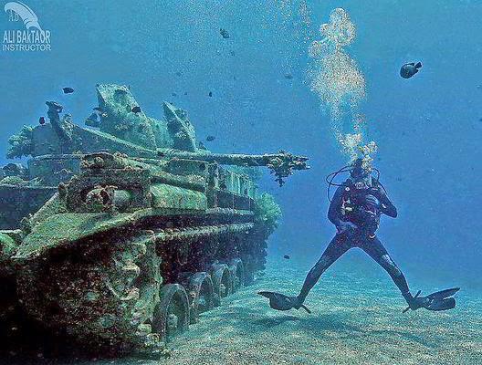 متنزه العقبة البحرى بالأردن
