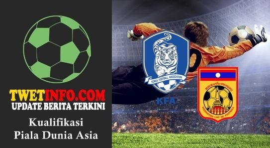Prediksi Korsel vs Laos, Piala Dunia Asia 03-09-2015