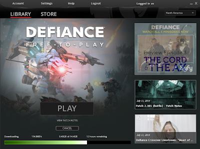 Defiance - Client Download