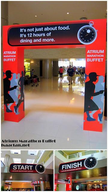 Atrium Cafe Buffet Marathon