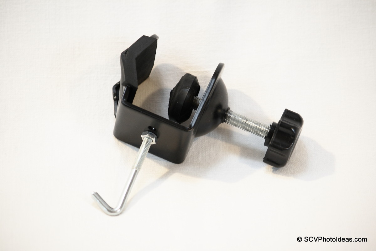 Counter weight hanging clamp