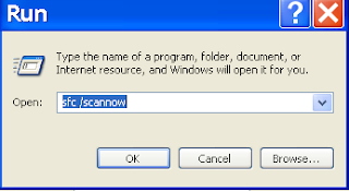 Fix windows xp corrupt