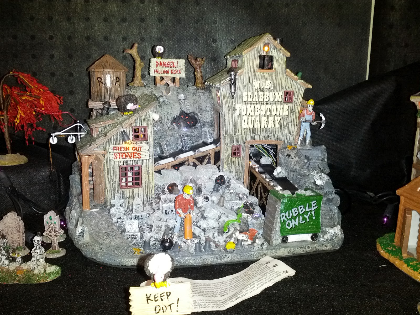 jpgviews name 20120812 halloween menards decorations halloween village lemax with up a has menards this back few their year - Menards Halloween Decorations