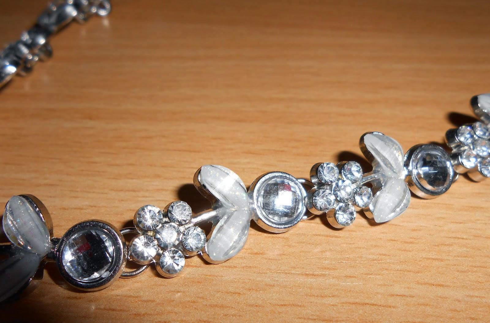 kryštalová čelenka, crystal headband