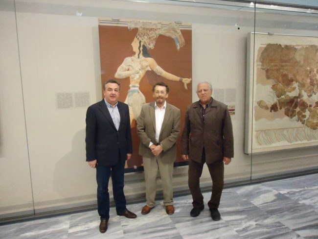«Στούντιο» το Αρχαιολογικό Μουσείο Ηρακλείου για τις ανάγκες της ταινίας Creta Divina