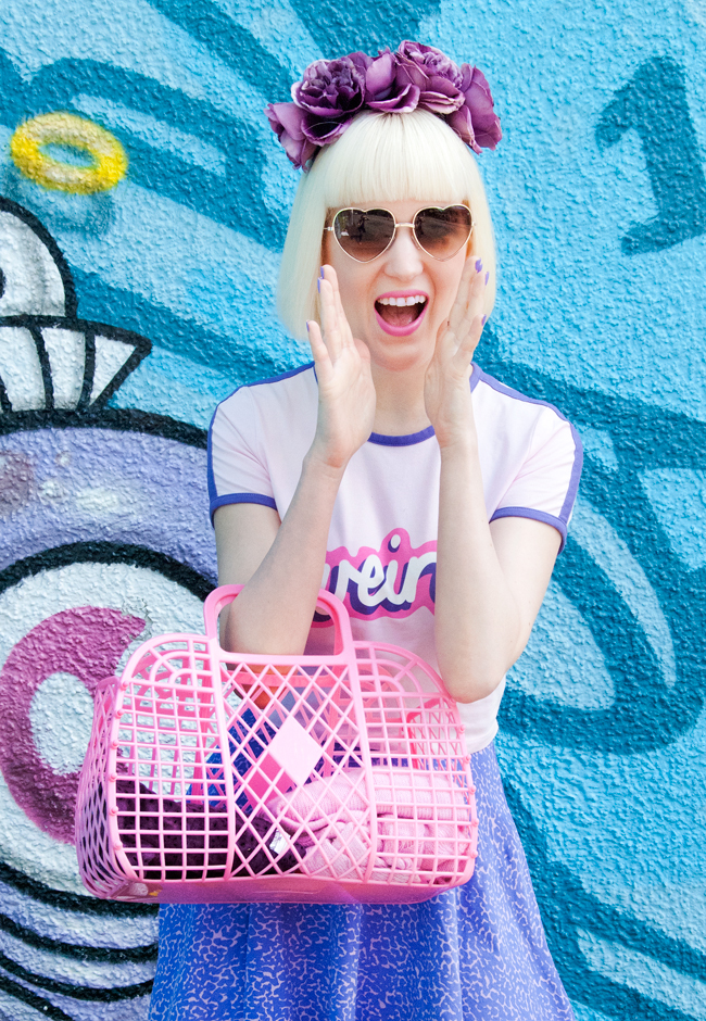 lazy oaf weird, heart shaped glasses, kawaii blogger style