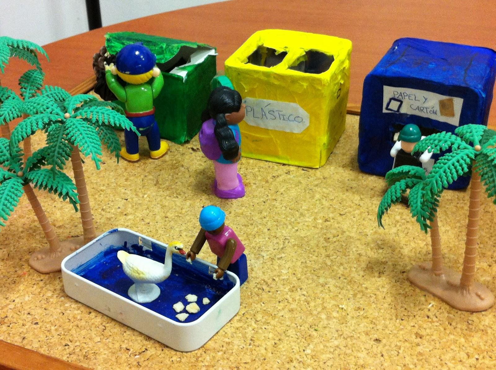 Imagenes de maquetas de anviente de resiclage ceip san - Cosas de reciclaje ...
