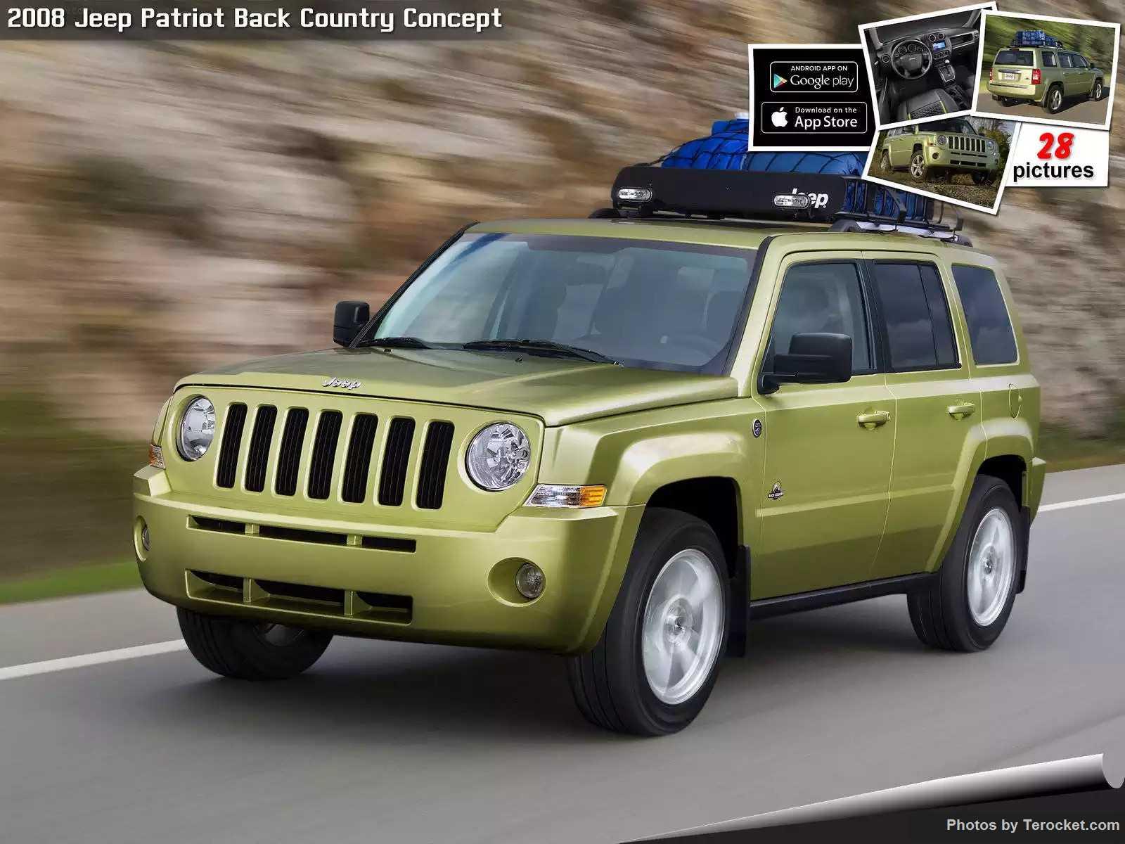 Hình ảnh xe ô tô Jeep Patriot Back Country Concept 2008 & nội ngoại thất