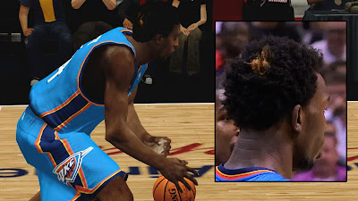 Hasheem Thabeet Yellow Patch Orange Hair Update