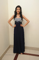 Richa Panai in Spicy Black Gown at a movie Function
