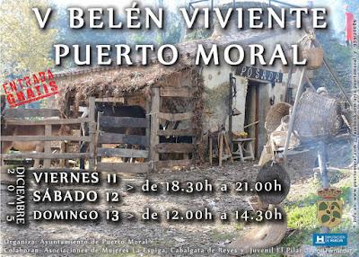 BELÉN VIVIENTE DE PUERTO MORAL 2015 - HUELVA