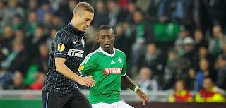 Saint-Etienne arrache le nul face à l'Inter Milan