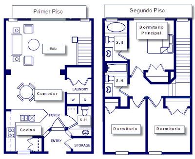 Ideas para construir casa en terreno peque o construye hogar for Disenos de casas 10x20