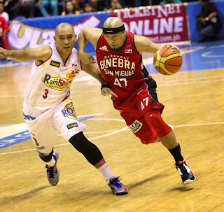 Ginebra vs Rain or Shine 2015