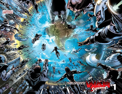 Superman, War of the Supermen #0, Kryptonians attack Earth
