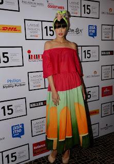 Bollywood Actress Nargis Fakhri Pictures at Lakme Fashion Week Media Meet  36