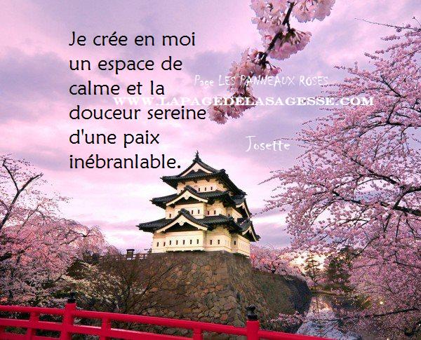 La page de la sagesse phrase de protection pour la s r nit for La paix interieur