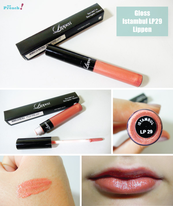 REVIEW gloss Istambul LP29 LIPPEN - TESTEI