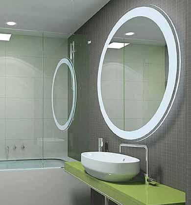 Model Desain Kaca Cermin Kamar Mandi