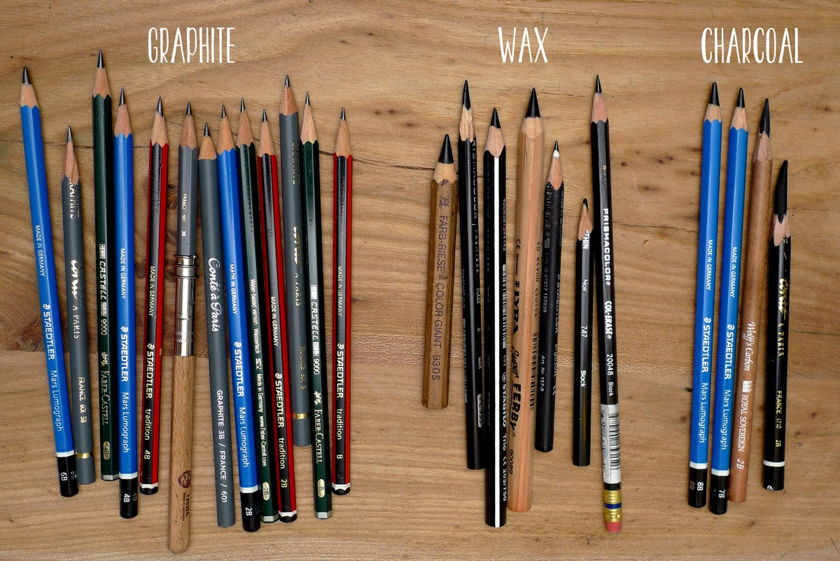 Stefans sketch blog the search for the ultimate drawing pencil