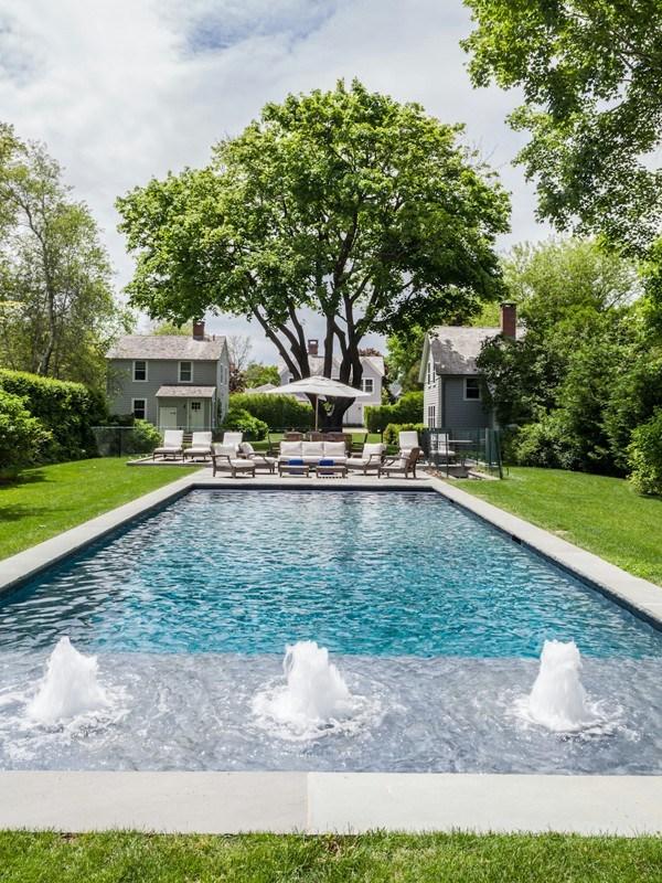 Trisha troutz hamptons houses no 32 for Pool design hamptons
