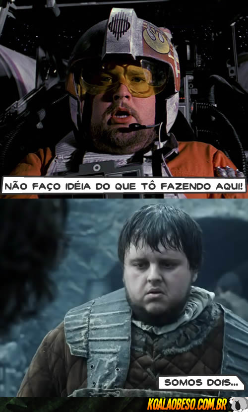 Star Wars X Game of Thrones - Piloto da Rebelião X Sam Tarly