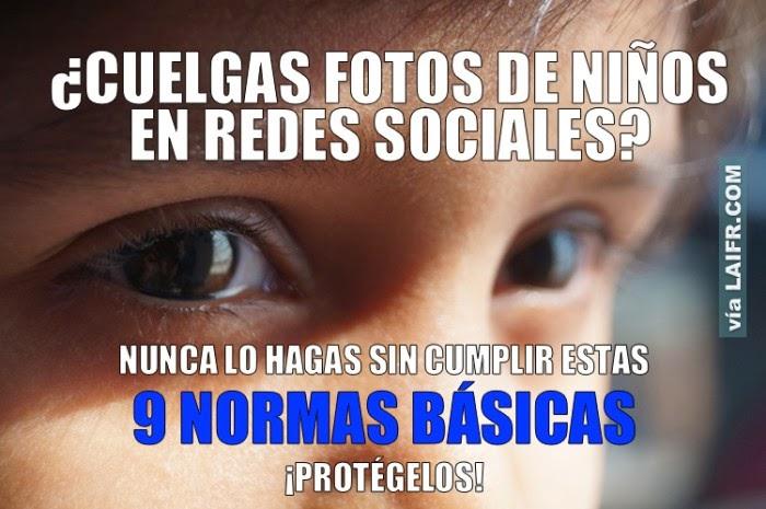 http://laifr.com/08/11/9-normas-basicas-para-publicar-fotos-de-ninos-en-redes-sociales/