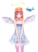 Etiquetas: anaru, angel, anime girl, Ano Hana, cute girl, kawaii, renders