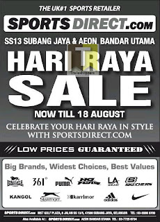 Sports Direct Hari Raya Sale 2013