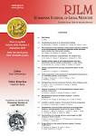 ROMANIAN JOURNAL OF LEGAL MEDICINE