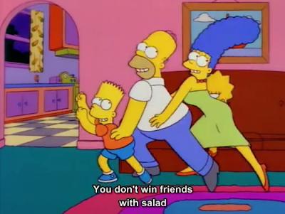 No Vives De Ensalada Los Simpson Una De Las Canciones Epicas De La