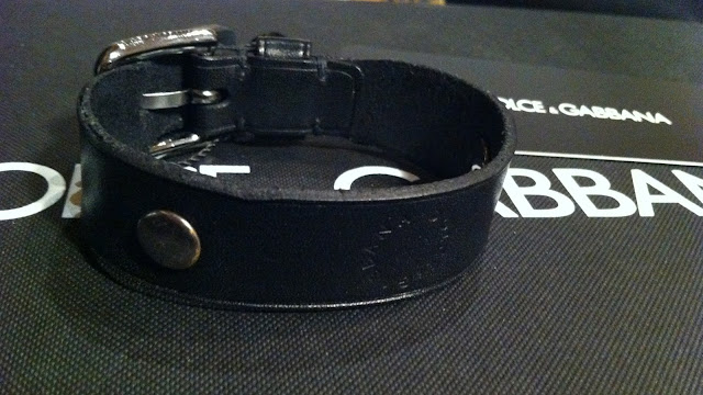 Dolce & Gabbana Leather Bracelet