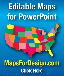 PowerPoint Maps for Presentations