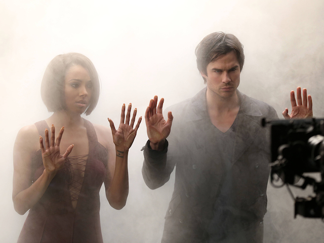 The Vampire Diaries - Season 6 - BTS Cast Promotional Photos