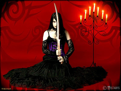 fighter-princess-in-a-black-dress-with-a-sward-in-hand-wallpaper