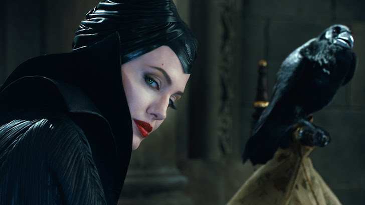 Maleficent Movie Crow 2014