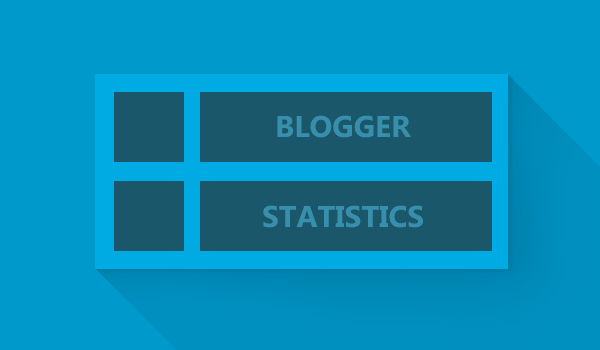 Customize Blogger Statistics Widget