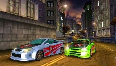 Download Game Need for Speed Carbon - Own the City for PPSSPP